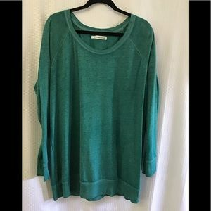 Teal Green Sweatshirt